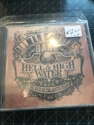 Allman Brothers Band, The - Hell & High Water - The Best Of The Arista Years - Used CD