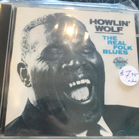 Howlin' Wolf - The Real Folk Blues - Used CD
