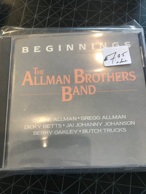 Allman Brothers Band, The - Beginnings - Used CD