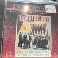 Temptations, The - All The Million Sellers - Used CD