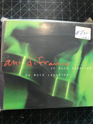 Ani Difranco - So Much Shouting, So Much Laughter - Used CD