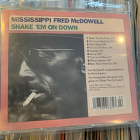 Mississippi Fred McDowell - Shake Em On Down - Used CD