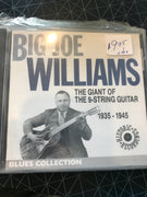 Big Joe Williams - The Giant Of The 9-String Guitar 1935-1945 - Used CD