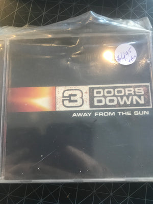 3 Doors Down - Away From The Sun - Used CD