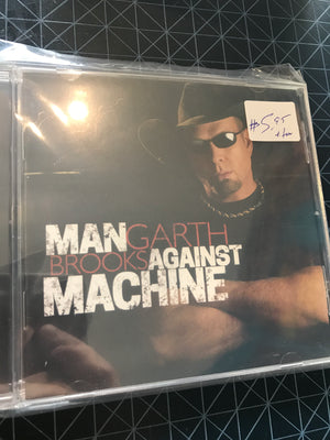 Garth Brooks - Man Against Machine - Used CD