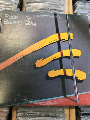 Russ Ballard - At The Third Stroke - Used Vinyl LP