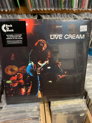 Cream - Live Cream - New Vinyl LP