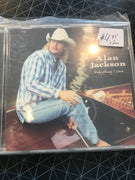Alan Jackson - Everything I Love - Used CD