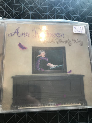 Ann Rabson - In A Family Way - Used CD