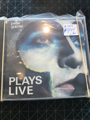 Peter Gabriel - Plays Live - Used CD
