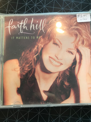 Faith Hill - It Matters To Me - Used CD