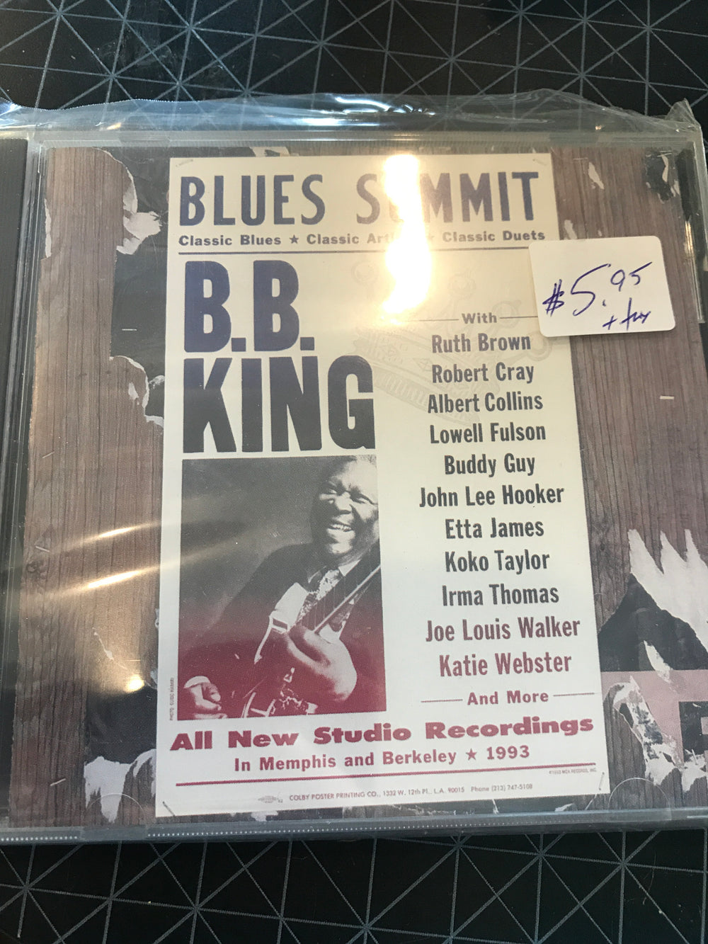 B.B. King - Blues Summit - Used CD