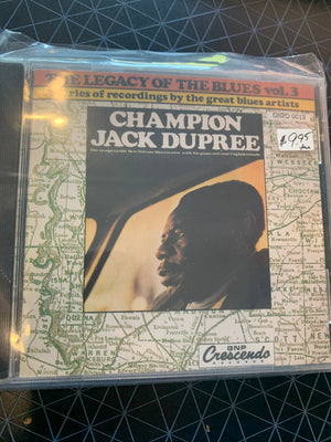Champion Jack Dupree - Legacy Of The Blues Vol. 3 - Used CD
