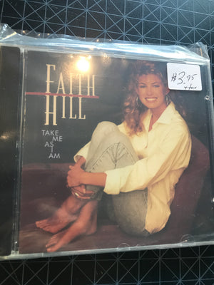 Faith Hill - Take Me As I Am - Used CD