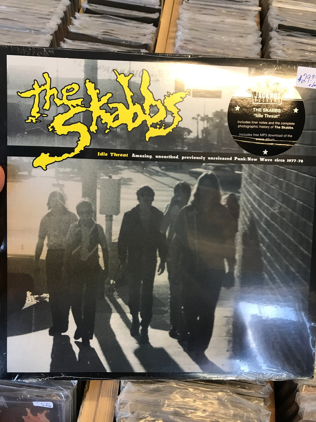 Skabbs, The - Idle Threat - New Vinyl LP