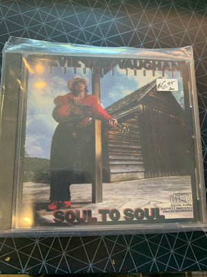 Stevie Ray Vaughan and Double Trouble - Soul to Soul - Used CD
