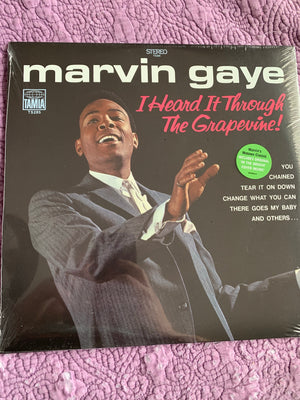 Marvin Gaye - I Heard It Through The Grapevine! - New Vinyl LP