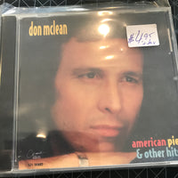 Don McLean - American Pie & Other Hits - Used CD