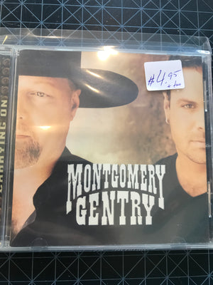 John Michael Montgomery - Carrying On - Used CD