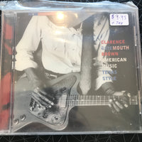 Clarence Gatemouth Brown - American Music Texas Style - Used CD