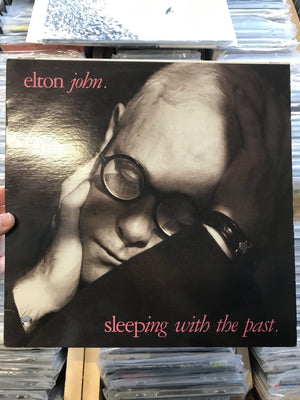 Elton John - Sleeping With The Past - Used Vinyl LP