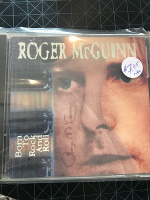 Roger McGuinn - Born To Rock And Roll- Used CD