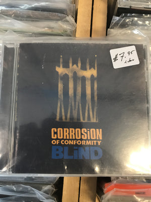 Corrosion Of Conformity - Blind - Used CD