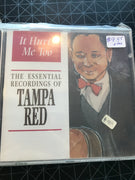 Tampa Red - It Hurts Me Too - Used CD