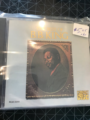B.B. King - The Best Of - Used CD