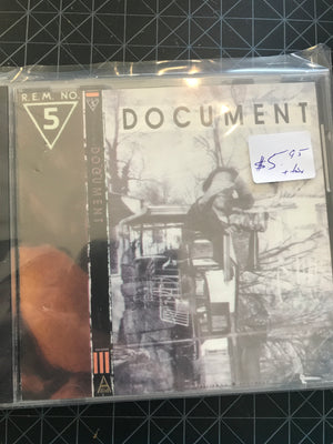 R.E.M. - Document - Used CD