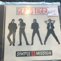 Glass Tiger - Simple Mission - Used CD