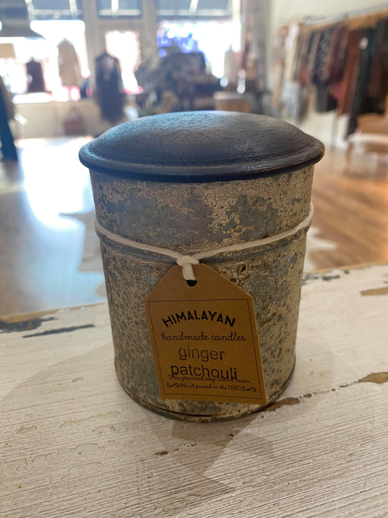 Spice Tin-Ginger Patchouli