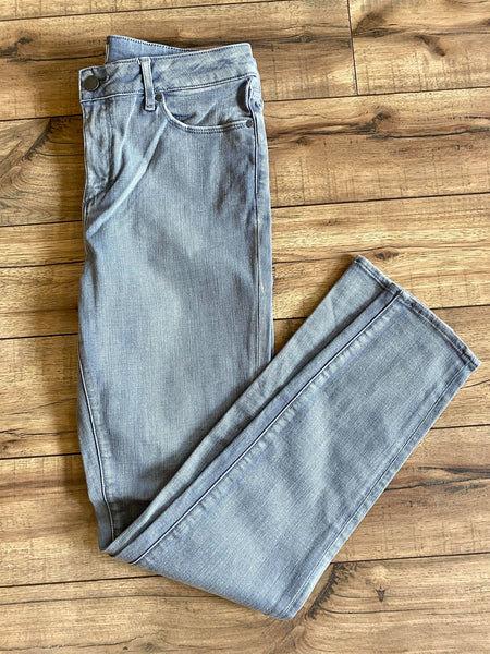 Washed Grey Ankle Skinny Jean