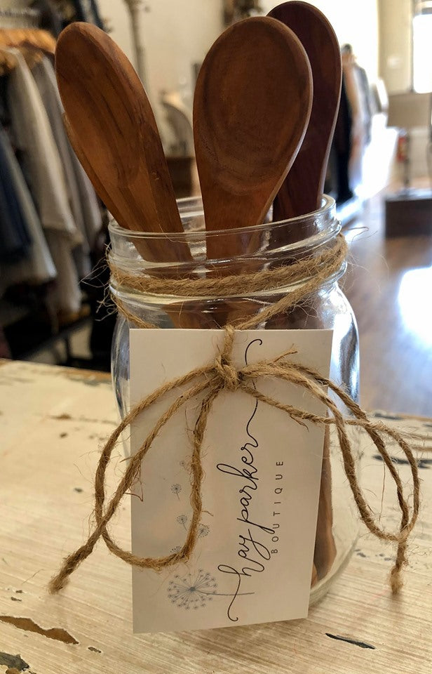 Olive Wood Jam Spoon