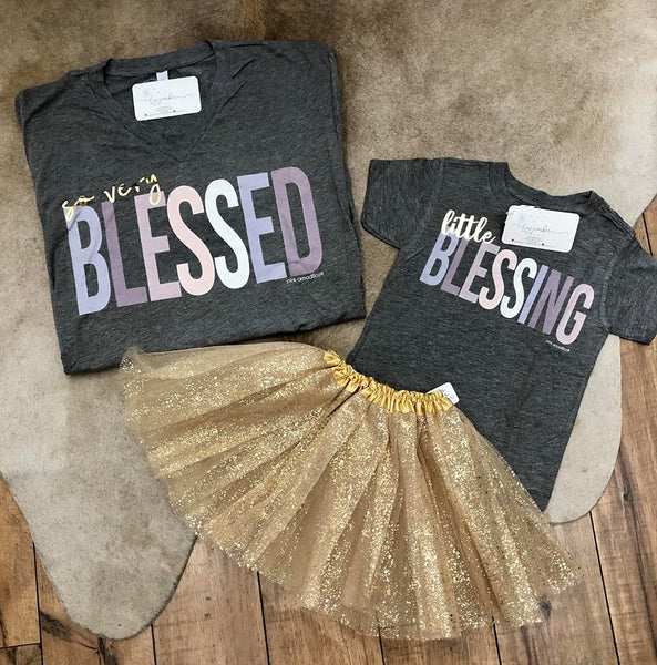 So Very Blessed & Little Blessing Tshirts