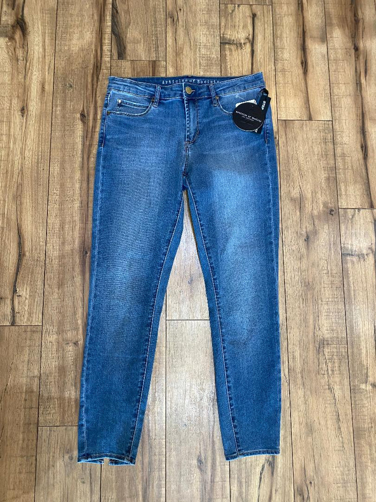 Light Denim Ankle Skinny Jean