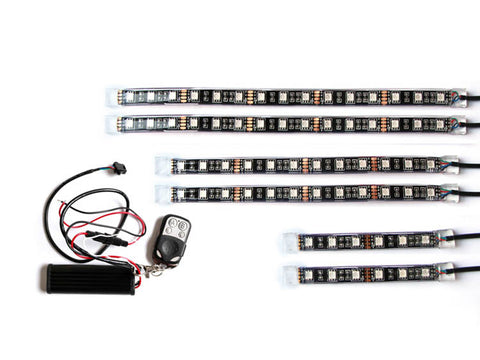 Accessory - 6pcs LED Strip Kit & Remote Control