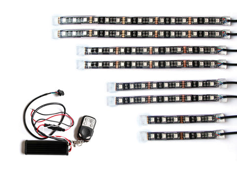Accessory - 8pcs LED Strip Kit & Remote Control