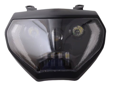 Motorcycle Headlights - Yamaha MT09/FZ09 LED Headlight