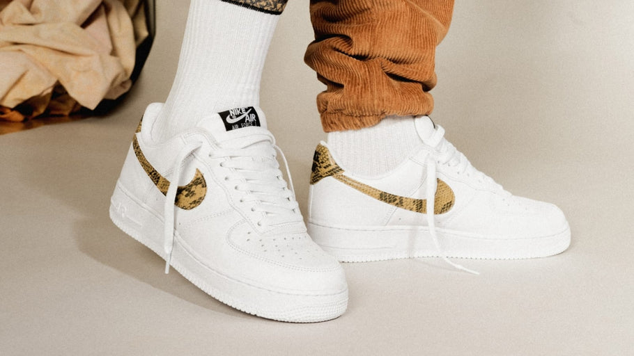 "The Nike Air Force 1 Low ""Ivory Snake"" Hits Retail after 20 Years"