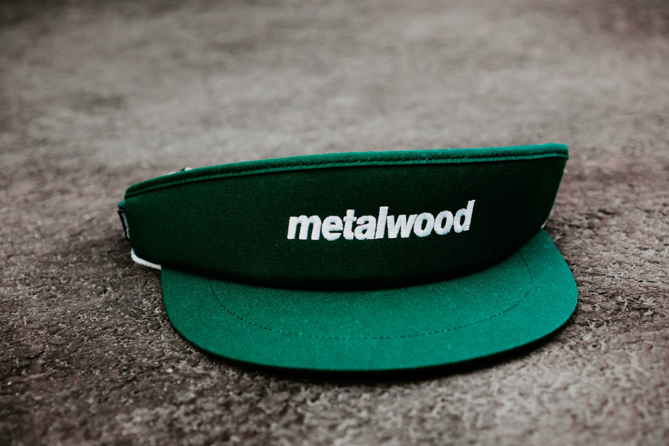 "Metalwood Studio ""Big Daddy Tour Visor"" - Green"