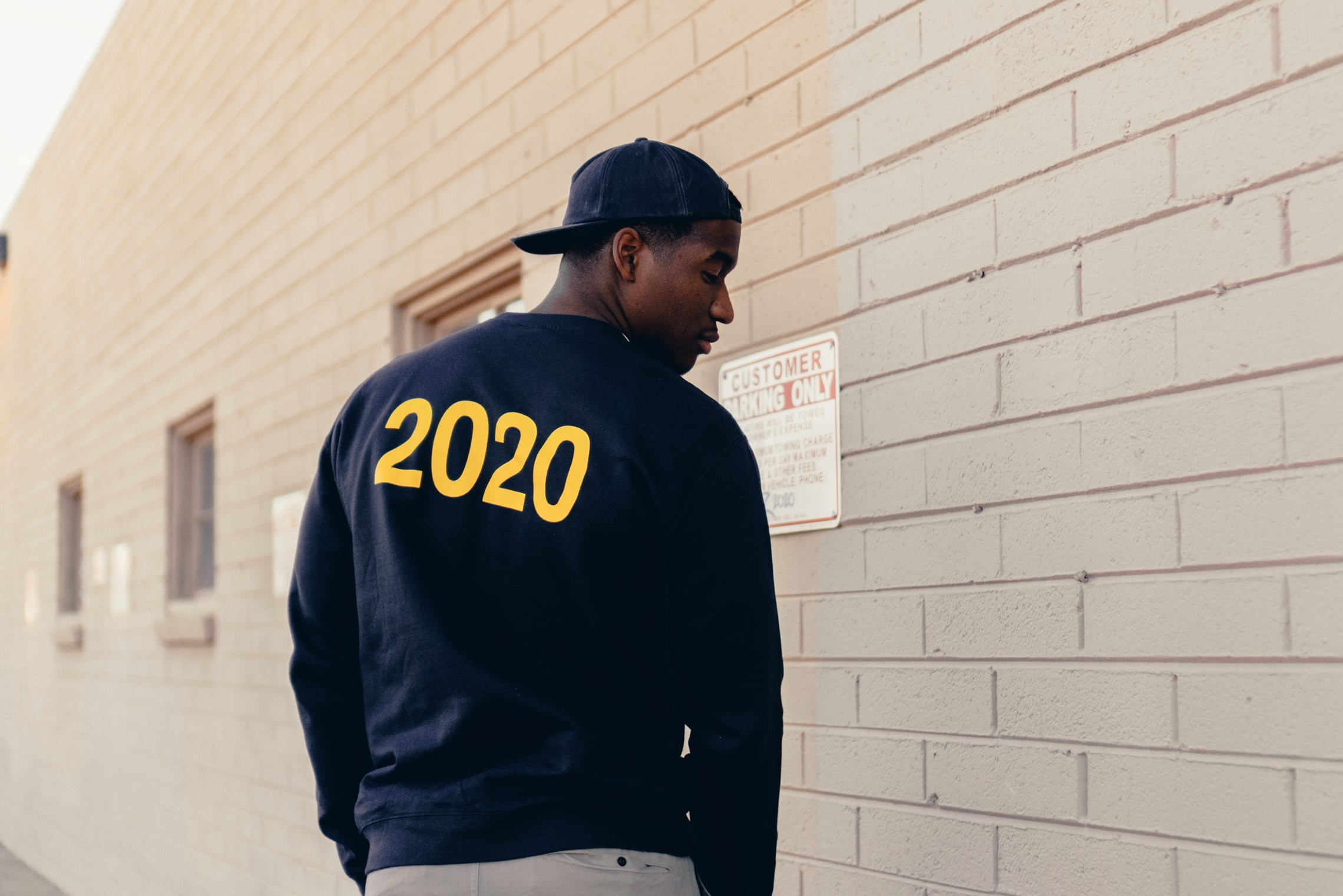 "Manor ""Bad Year"" Crew M - Navy"