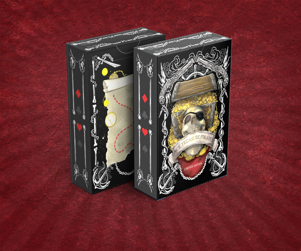Ace Treasure Pirates Playing Cards LIMITED EDITION PRE-ORDER
