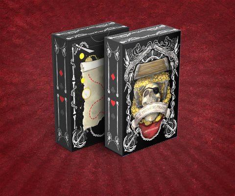 Ace Treasure Pirates Playing Cards LIMITED EDITION