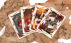 Ace Treasure Pirates Playing Cards