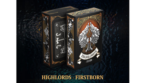 Highlords Firstborn Playing Cards - Volume 1 Fantasy Series