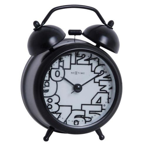 Black Glow In The Dark Alarm Clock