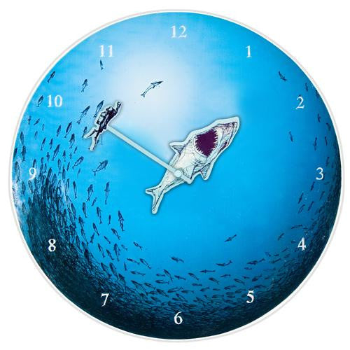 Jaws Wall Clock (35cm)