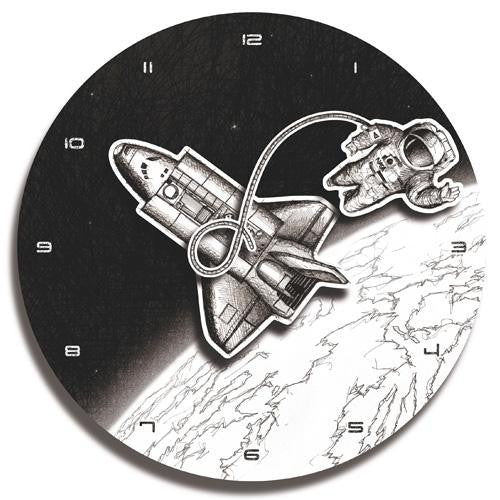 Space Wall Clock (35cm)