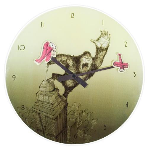 King Kong Wall Clock (35cm)